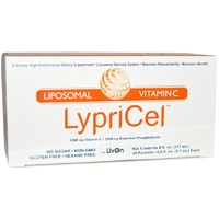 Twin Pack -2 x Boxes of Lypo-Spheric Vitamin C LivOn Laboratories 30 Packets (5.7ml) Each  - Dietary Supplement