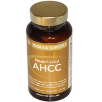 Quality of Life Labs Kinoko Gold AHCC Immune Support 500 mg 60 Veggie Capsules  - Dietary Supplement
