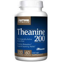 Jarrow Formulas, Theanine 200, 200 mg, 60 Capsules