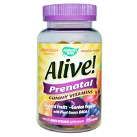 Nature's Way Alive! Prenatal Gummy Vitamins 75 Gummies