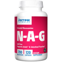 Jarrow Formulas N-A-G Salt Free  700mg 120 Capsules - Dietary Supplement