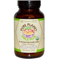 Pure Planet Amla Plus Organic Non GMO 114 g - Dietary Supplement