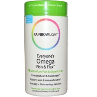 Rainbow Light Everyone's Omega Fish & Flax Oil - Dietary Supplement