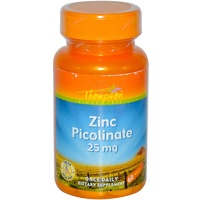 Thompson Zinc Picolinate 25 mg 60 Tablets  - Dietary Supplement