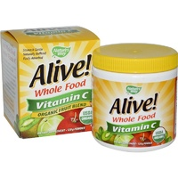 Nature's Way, Alive, Whole Food, Vitamin C, Powder, 120 g
