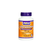 Now Foods L-Phenylalanine 500 mg 120 Capsules - Dietary Supplement