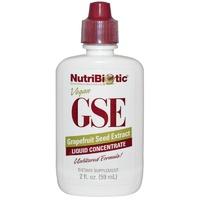 Nutribiotic GSE Liquid Concentrate Grapefruit Seed Extract 59 ml  2 fl oz - Dietary Supplement