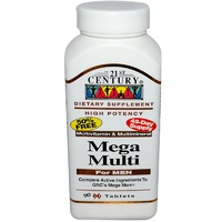 21st Century Healthcare Mega Multi For Men 90 Tablets