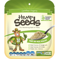 Hemp Seeds Australia, Hulled Hemp Seeds, Organic, 250 g