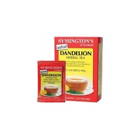 Symington's Instant Dandelion Herbal Tea, Caffeine Free, 25 Sachets,  100 g ... VOLUME DISCOUNT