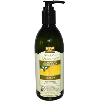 Avalon Organics Glycerin Hand Soap Lemon (355ml)