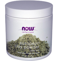 Now Foods, Solutions, European Clay Powder, 6 oz 170 grams