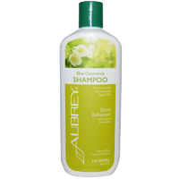 Aubrey Organics, Blue Camomile Shampoo, Shine Enhancer, Normal, 11 fl oz, 325ml