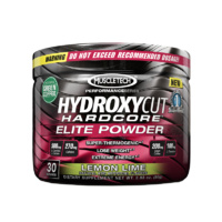 MuscleTech HydroxyCut Hardcore Elite Powder 30 Servings Lemon Lime