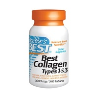 Doctor's Best Collagen Types 1 & 3 1000mg 540 Tablets