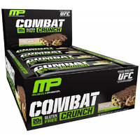 Muscle Pharm, Combat Crunch, Chocolate Chip Cookie Dough, 12 Bars, 63 g Eachs