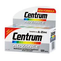 Centrum Advance, Multivitamin & Mineral Supplement, 120 Tablets