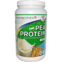 Growing Naturals Yellow Raw Pea Protein Original 912 g