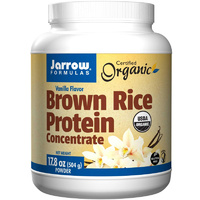 Jarrow Formulas Brown Rice Protein Vanilla Flavour 504 g Powder
