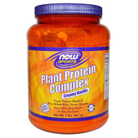 Now Food Sports Plant Protein Complex Creamy Vanilla 2 lbs 907g