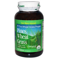 Pines International, Pines Wheat Grass, 500mg, 250 Tablets