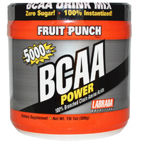Labrada Nutrition, BCAA Power, Fruit Punch, 500 g - Dietary Supplement