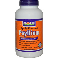 Now Foods, Psyllium Husk, Powder, Apple Flavoured, 340 g