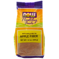 Now Foods, Apple Fibre, 340 g ... VOLUME DISCOUNT - Health Supplement