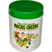 MacroLife Naturals, Macro Greens, SuperFood, Nutrient Rich, 850 g