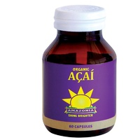 Amazonia Acai, Organic, 60 Capsules - Health Supplement