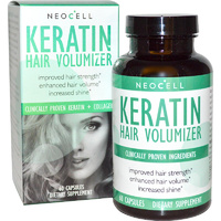 Neocell Keratin Hair Volumizer 60 Capsules - Dietary Supplement