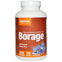 Jarrow Formulas, Borage, 1200 mg, 120 Softgels - Dietary Supplement