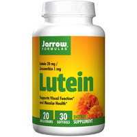 Jarrow Formulas, Lutein, 20 mg, 30 Softgels - Dietary Supplement