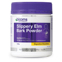 Blooms Health Products, Slippery Elm Bark, Powder, 125 g