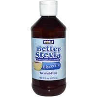 Now Foods, Better Stevia, Glycerite, Alcohol-Free, 237 ml, 8 fl oz