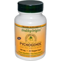 Healthy Origins Pycnogenol 100 mg 30 VCaps - Dietary Supplement