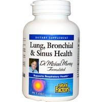 Natural Factors, Lung, Bronchial & Sinus Health,90 Tablets