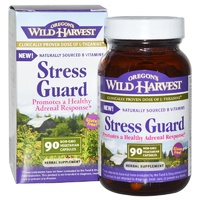 Oregon's Wild Harvest, Stress Guard, 90 NON-GMO VCaps