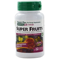 Nature's Plus, Herbals Actives, Super Fruits, 60 VCaps