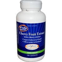 Enzymatic Therapy, Cherry Fruit Extract, Joint Health, 180 Capsules