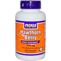 Now Foods, Hawthorn Berry, 540mg, 100 Capsules ... VOLUME DISCOUNT