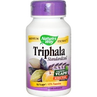 Nature's Way, Triphala, Standardised, 90 VCaps - Herbal Supplement