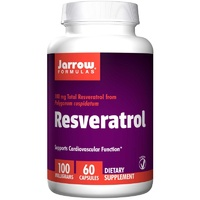 Jarrow Formulas Resveratrol 100 mg 60 Capsules - Dietary Supplement