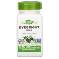 Nature's Way, Eyebright Herb, 860 mg, 100 Vegan Capsules