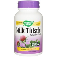 Nature's Way Milk Thistle Standardised 120 Veggie Capsules