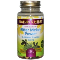 Nature's Herbs Bitter Melon-Power 150 mg 60 Capsules
