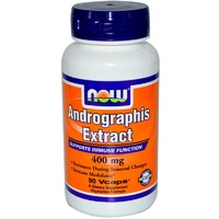 Now Foods Andrographis Extract 400 mg 60 Veggie Capsules