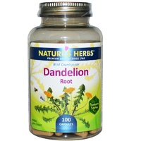 Nature's Herbs Dandelion Root 100 Capsules - Herbal Supplement