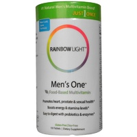 Rainbow Light Just Once Men's One Food-Based Multivitamin 30 Tablets