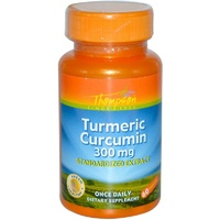 Thompson Turmeric Curcumin 300 mg 60 Capsules  - Dietary Supplement